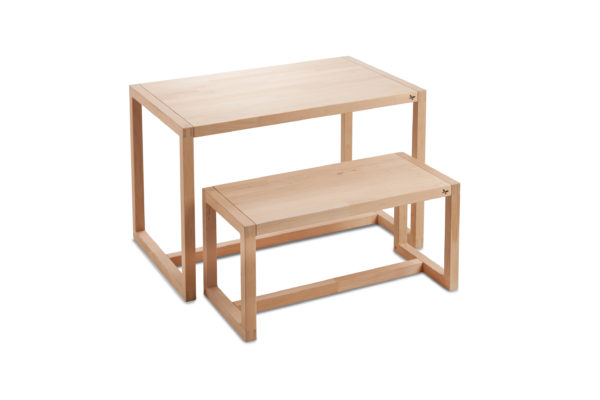 Picture of Cocoon Kjaersholm children's table and children's bench