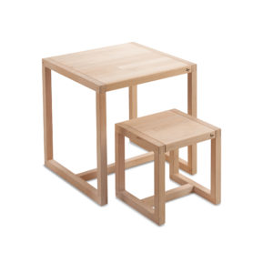 Picture of Cocoon Kjærsholm small children's table and childen's chair
