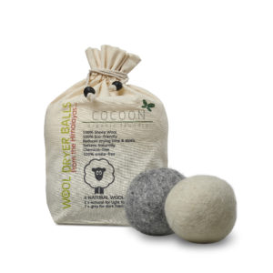 Picture of Cocoon Organic Laundry Wool Balls 4 pcs. - drying balls