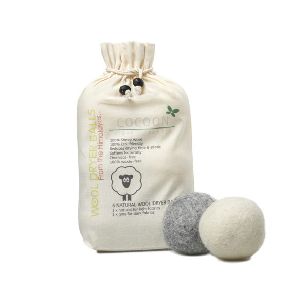 Picture of Cocoon Organic Laundry Wool Balls 6 pcs. - drying balls