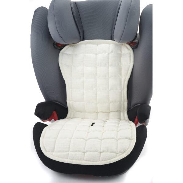 AHA-010801-SB Kapok baby indsats til autostol 15-36 kg - Soft Beige