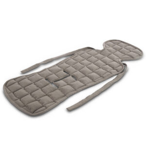 car seat cushion kapok dark brown