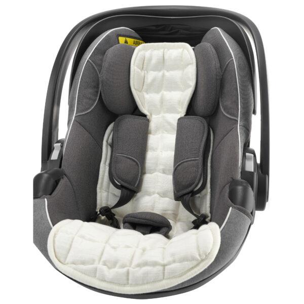 AHC-010803-SB Kapok baby indsats til autostol - Soft Beige